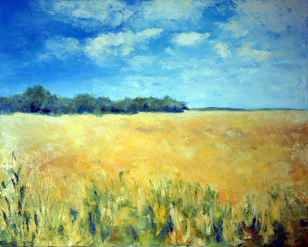 Fields of Gold 24x30 in.
