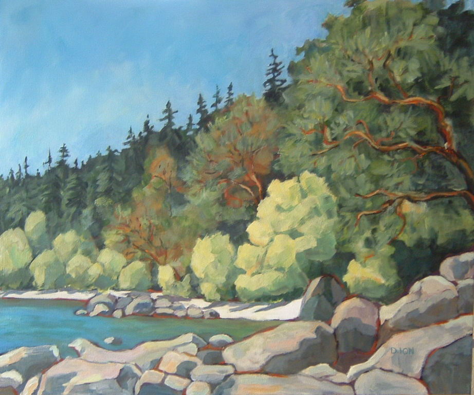 East Sooke Cove 30x36 in.