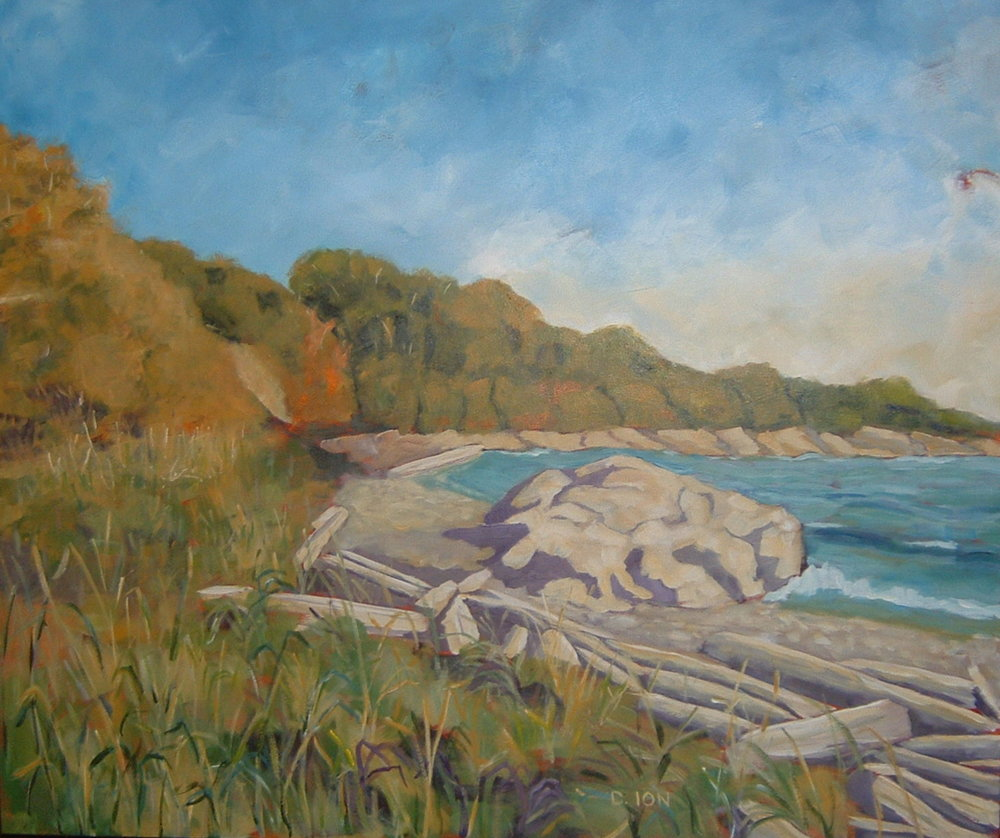 Summer at Cattle Point 30x36 in.