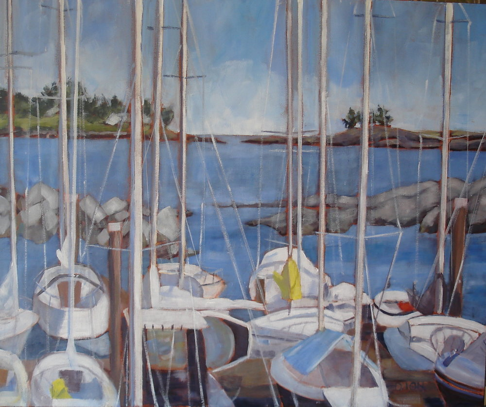 Home Port 20x24 in.