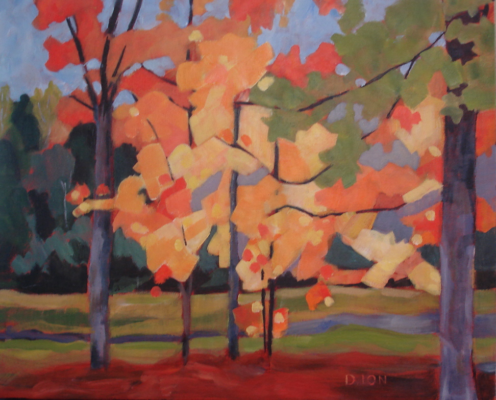 Autumn Palette 16x20 in.