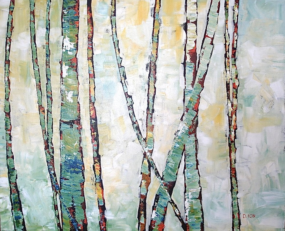 Tree Tapestry II  30x36 in.