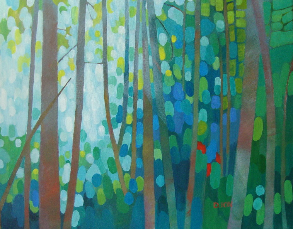 Forest Morning 16x20 in.