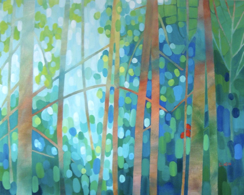 Forest Shadows 24x30 in.