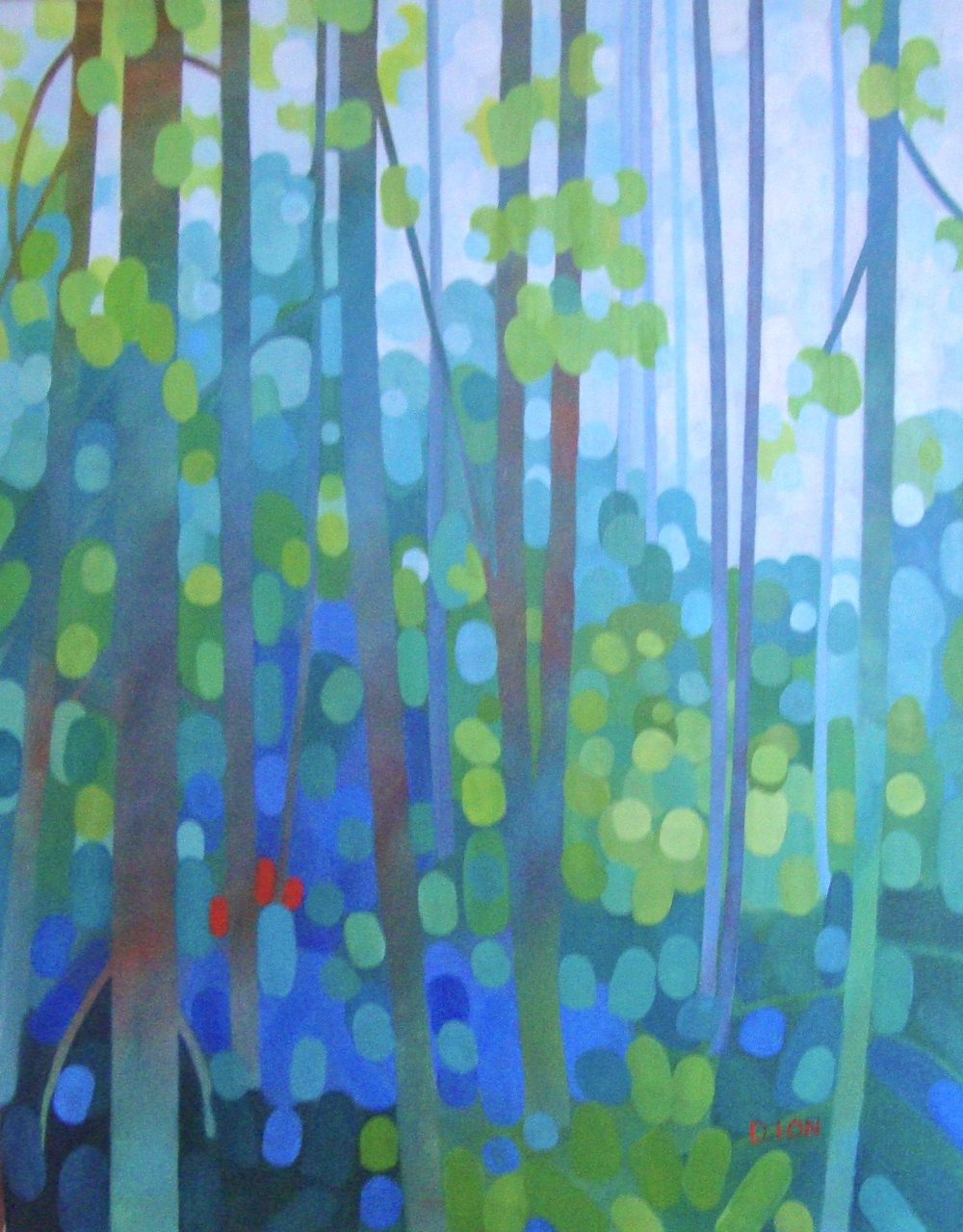 The Sunlit Grove 24x30 in.