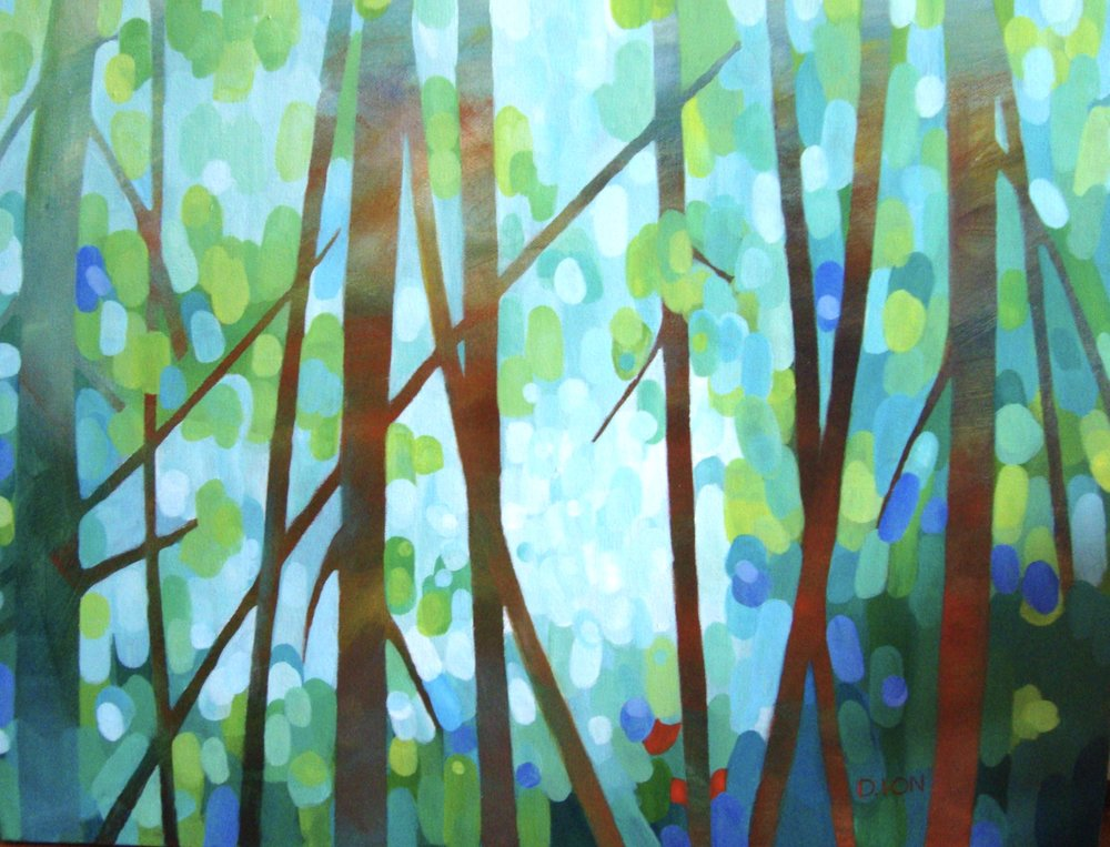 The Clearing 18x24 in.