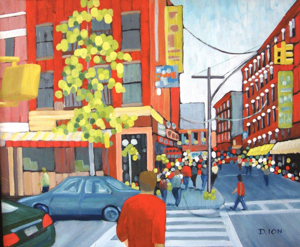 Little Italy 20x24 in.