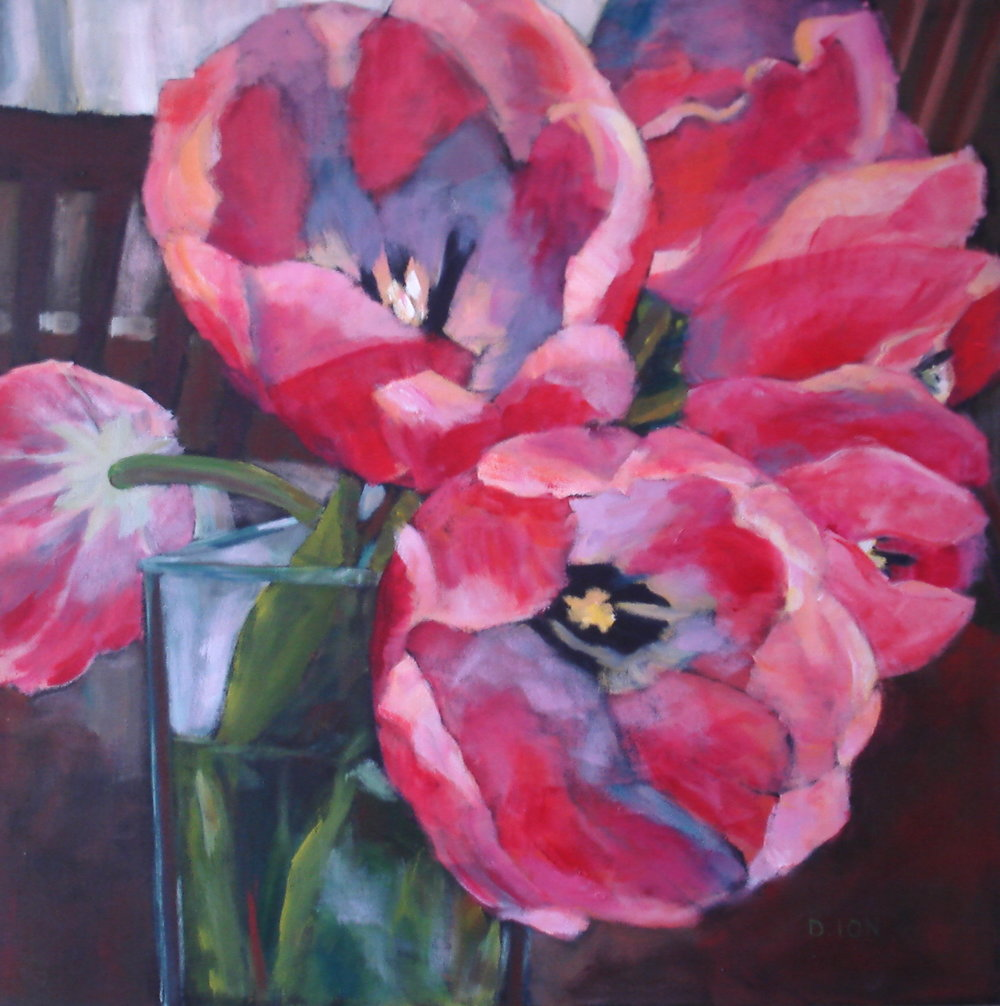Totally Tulips 24x24 in.