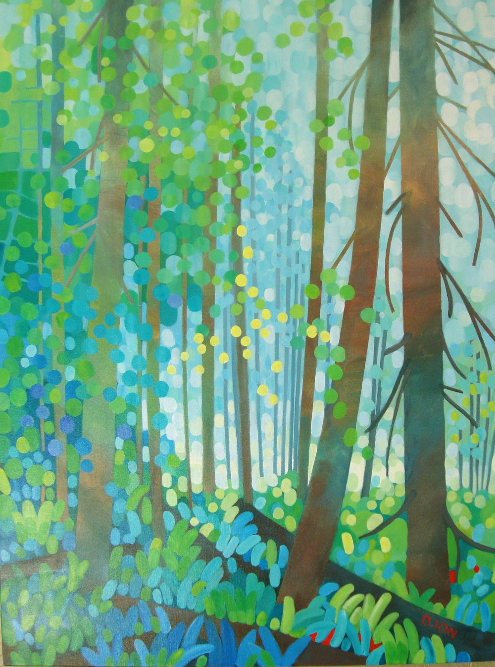 The Forest Mantle 30x40 in.