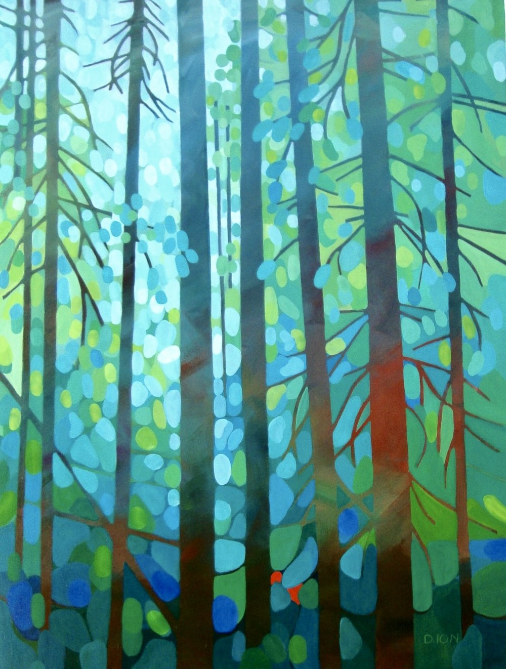Morning Has Broken 30x40 in.