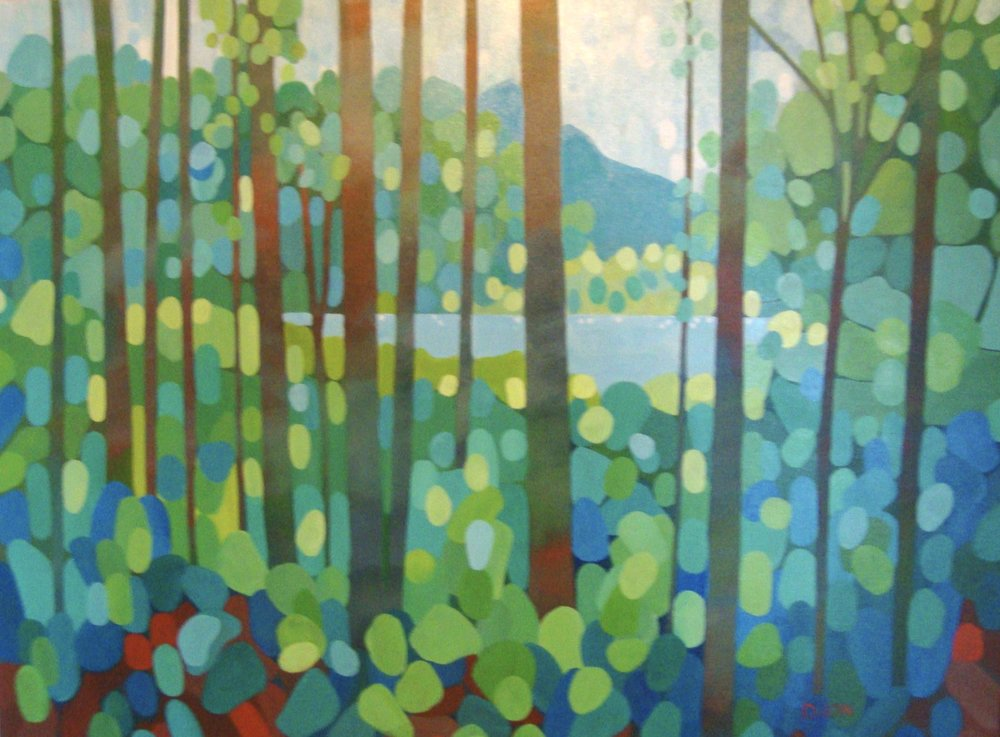 Secret Lake 30x40 in.