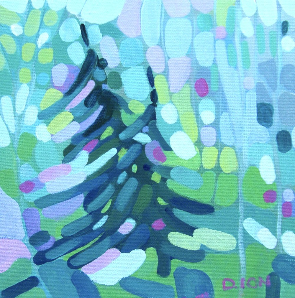 Forest Series 12  8x8 in.