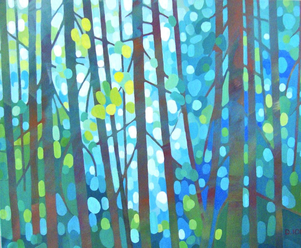 Forest Screen 24x30 in.