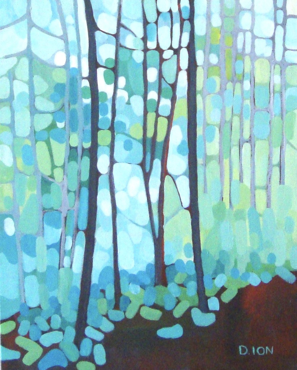 Edge of the Woods 16x20 in.