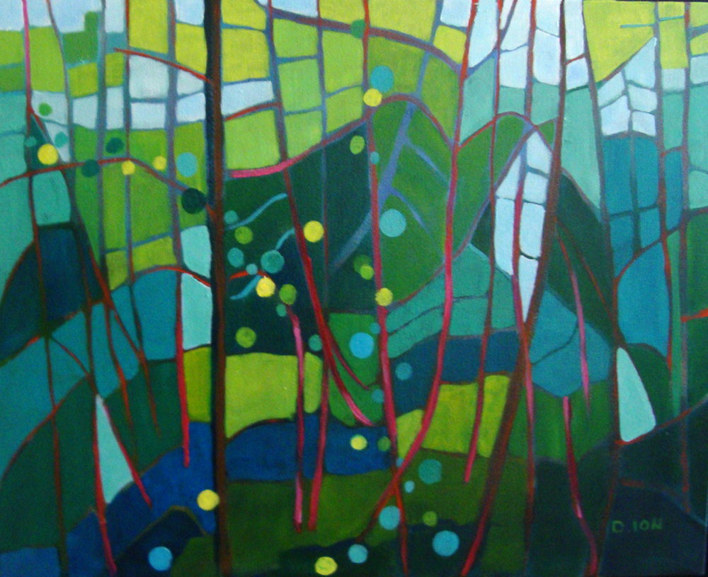 Undergrowth 16x20 in.