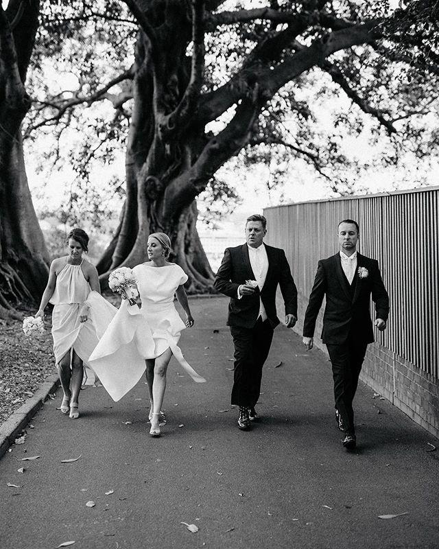 Bridal squad.