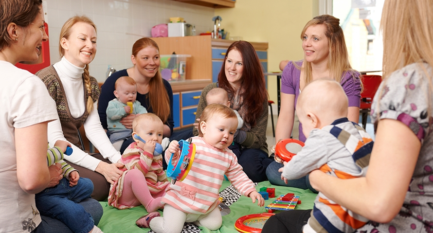 Playgroup can be the first step a person takes towards Jesus