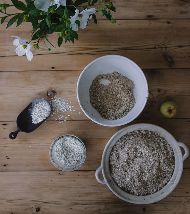 Buckwheat crumble recipe