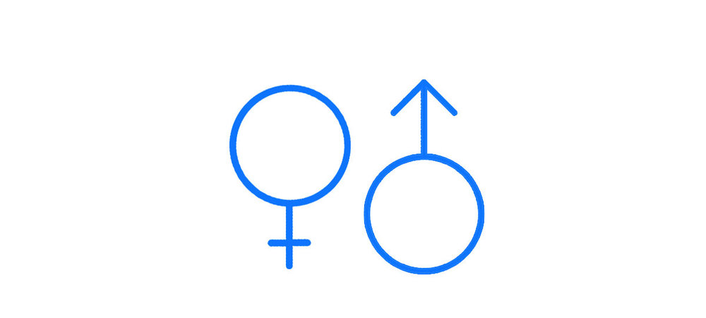 Demographic data - Male/female gender split
