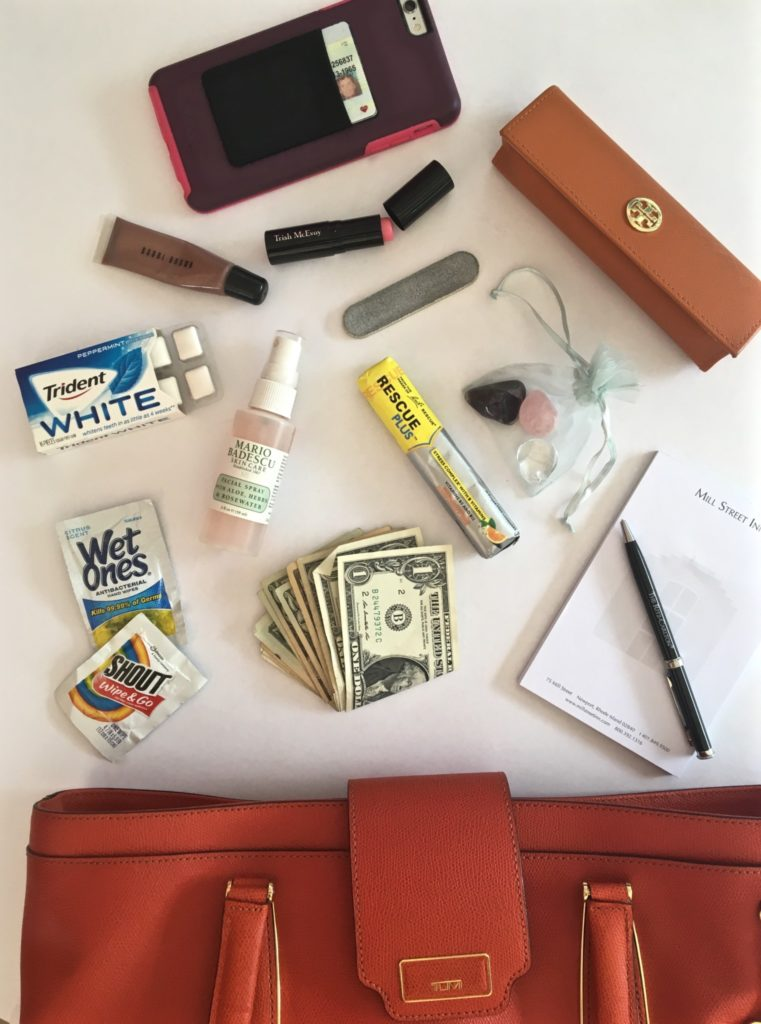 purse whats in your bag make up products