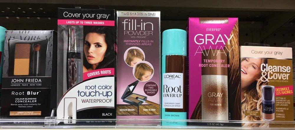 root coverage root dye brow dye