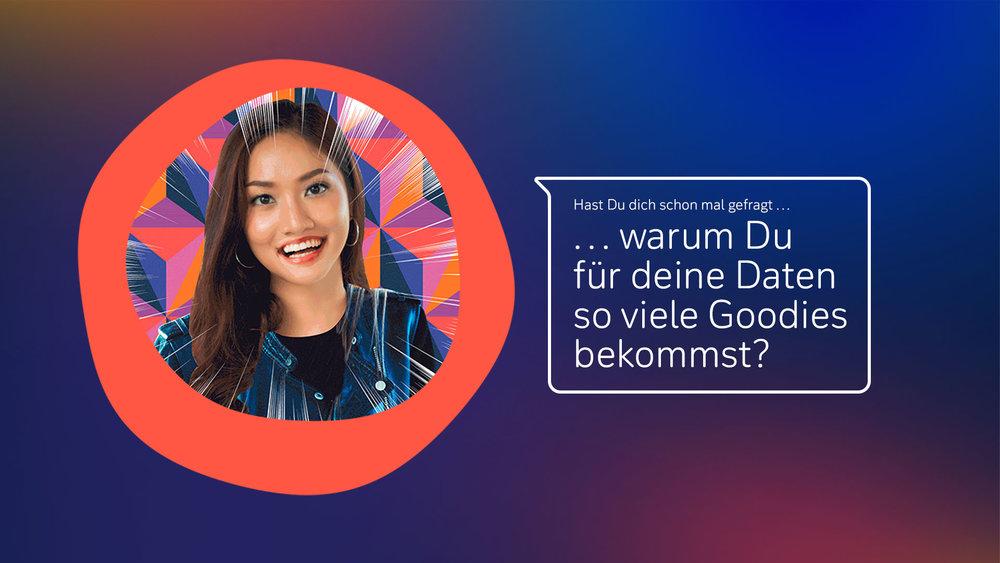 #MeinDatenIch - Diese Microsite haben wir für die Deutsche Bank umgesetzt. Ein Beispiel für Conversational Design, das den Nutzer informiert - und Spaß macht.