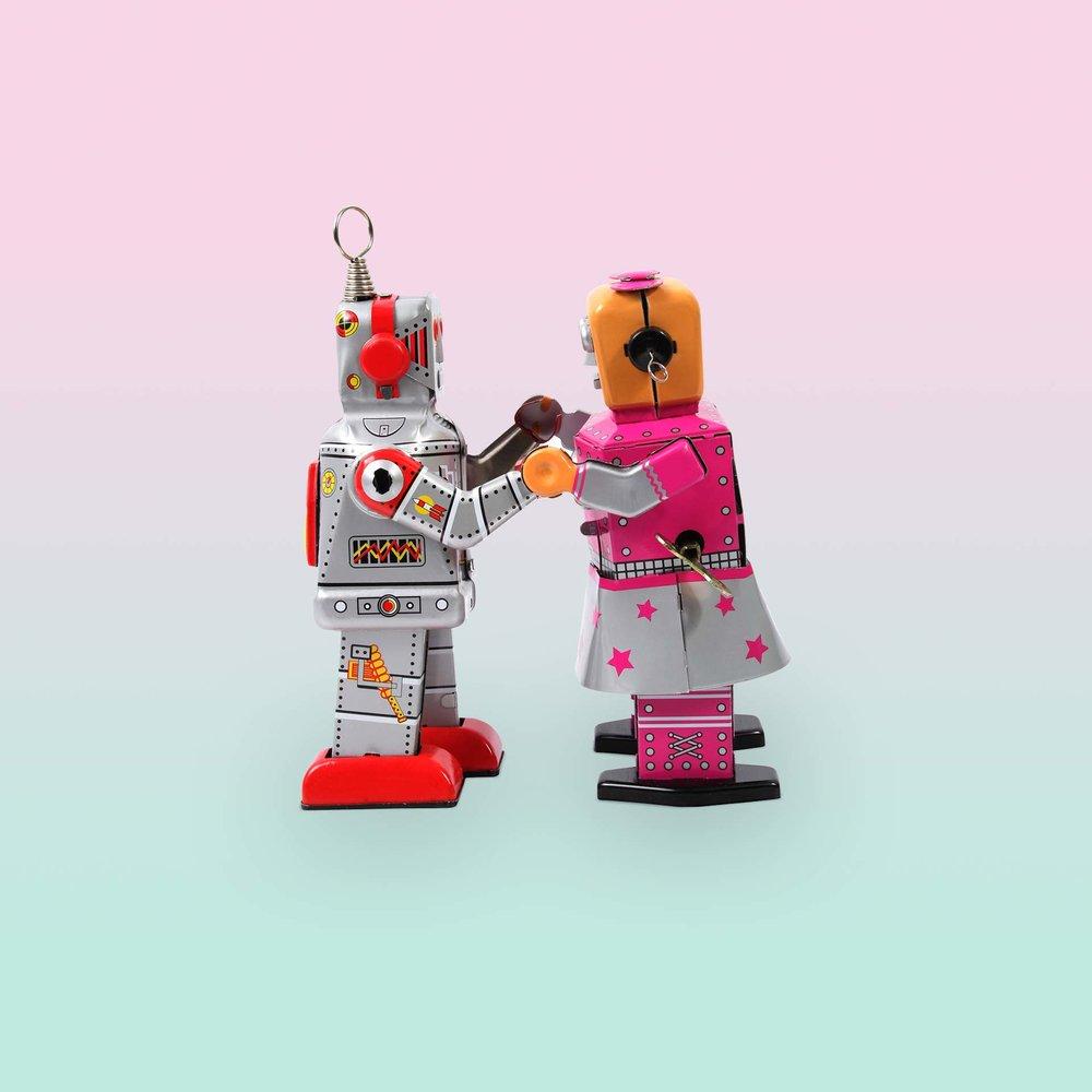 Mein eigener Tango-Roboter - Künstliche Intelligenz wertet Daten aus, steuert Prozesse und diagnostiziert Krankheiten. Aber kann und sollte sie auch führen? Die Autorin fragt sich im ersten Schritt, ob sie einem Roboter folgen würde.