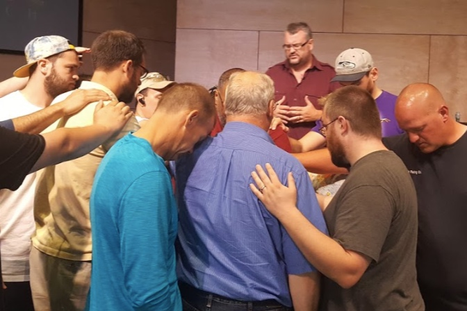 Prayer - At the close of every service, we have people from our prayer team ready to pray for any needs. We encourage our church body to pray for one another. We have seen God's answered prayer over and over again.