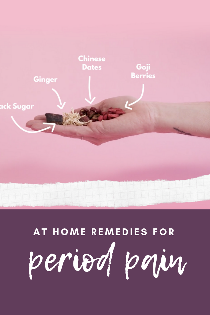 At home remedies for period pain
