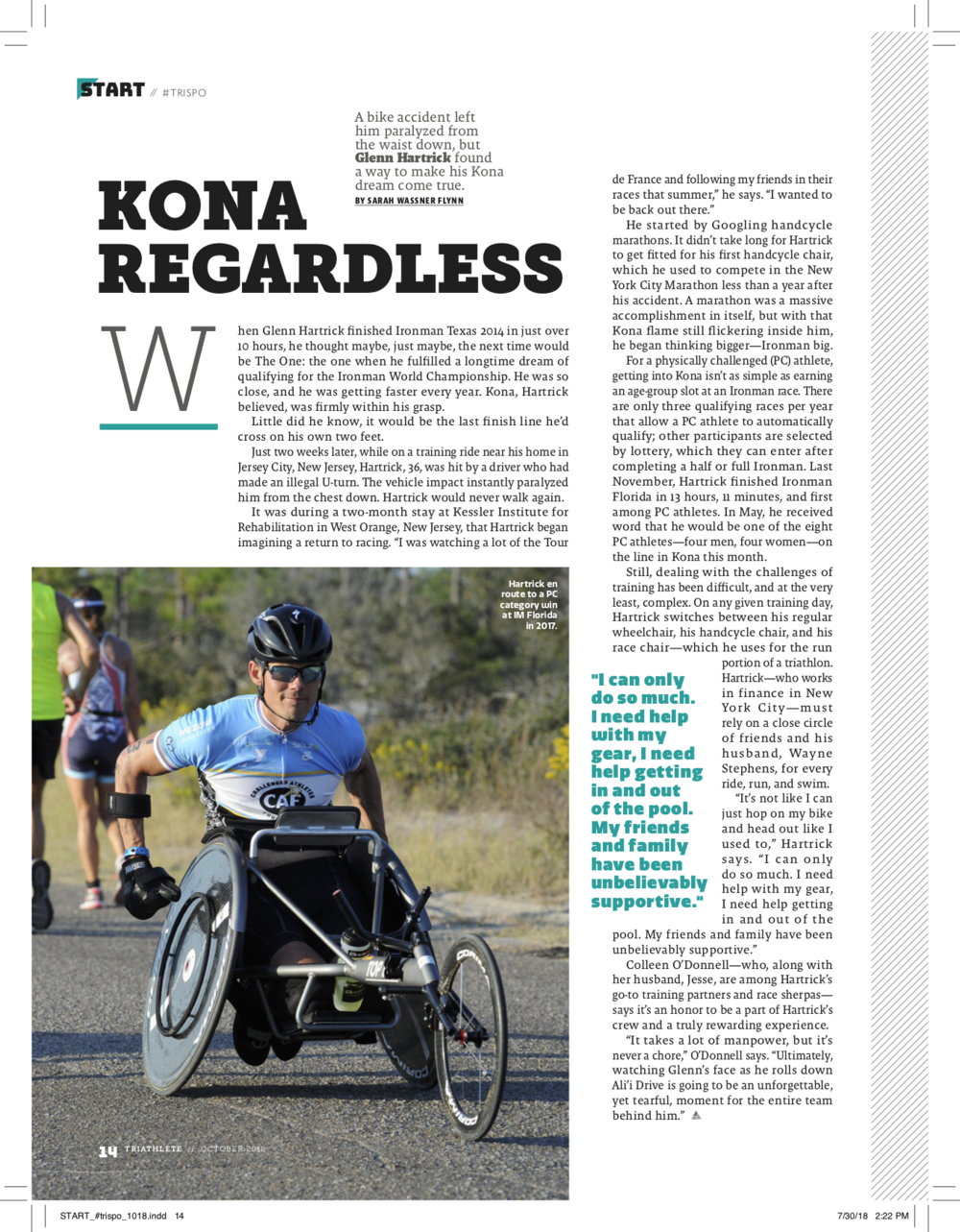 TRIATHLETE MAGAZINE | Publication