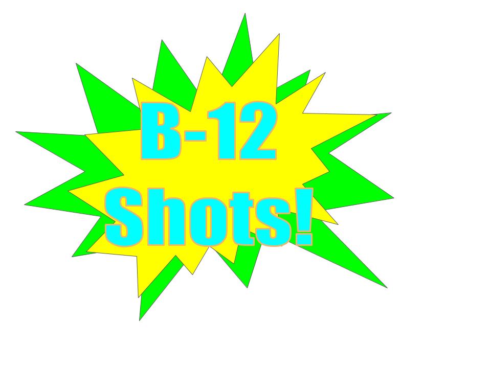 B12 Vitamin Shots deliver fast results! -