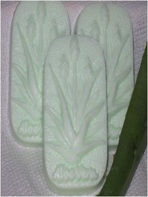 aloe vera tea tree glycerin soap by lisa maliga