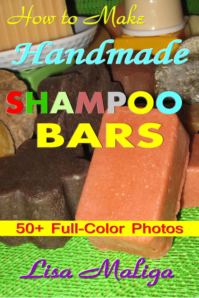 how to make handmade shampoo bars lisa maliga ebook edition