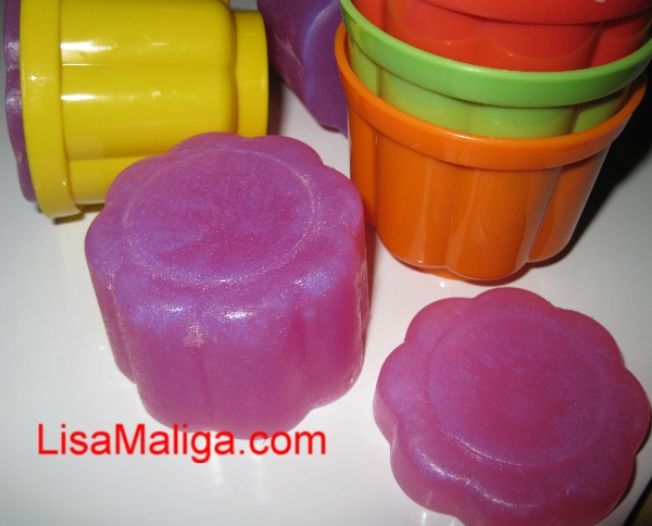 jelly baby melt and pour soap by lisa maliga