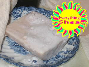 shea butter melt and pour soap