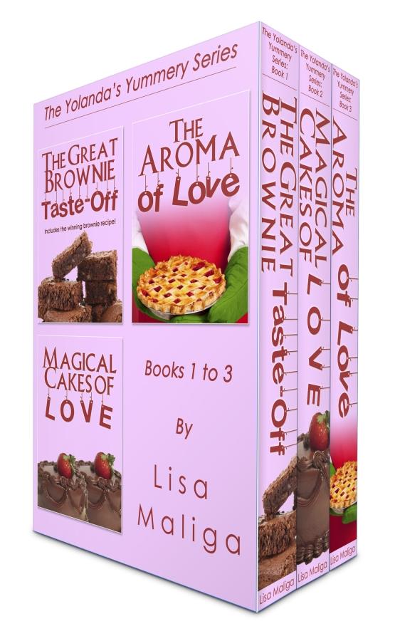 Boxed Set: The Yolanda's Yummery Series, Books 1 – 3 lisa maliga ebooks