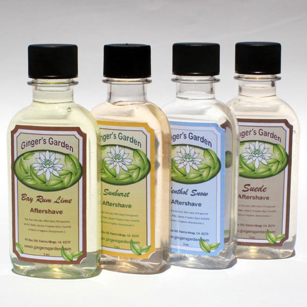 Natural Aftershave Cologne Bay Rom Lime Menthol Citrus Sterling