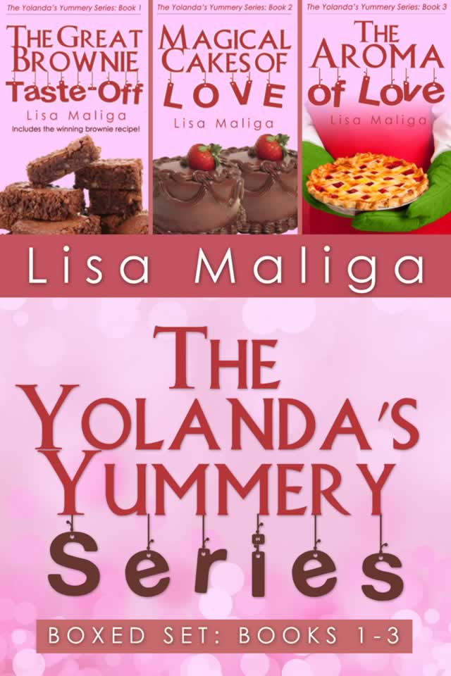 yolanda's yummery series boxed set books 1-3 lisa maliga