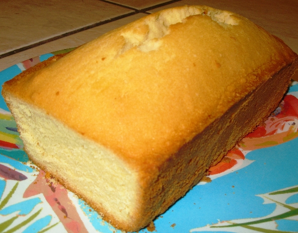 real butter pound cake by lisa maliga