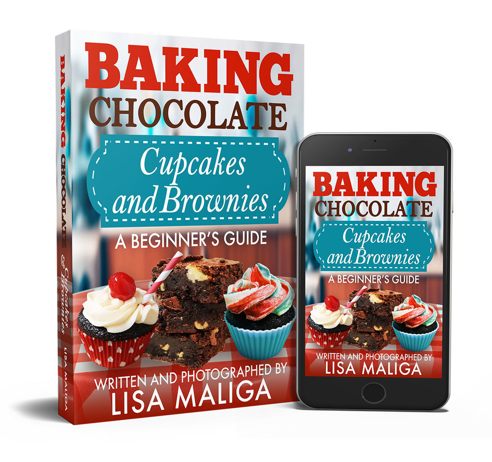 baking chocolate cupcakes and brownies a beginner's guide by lisa maliga