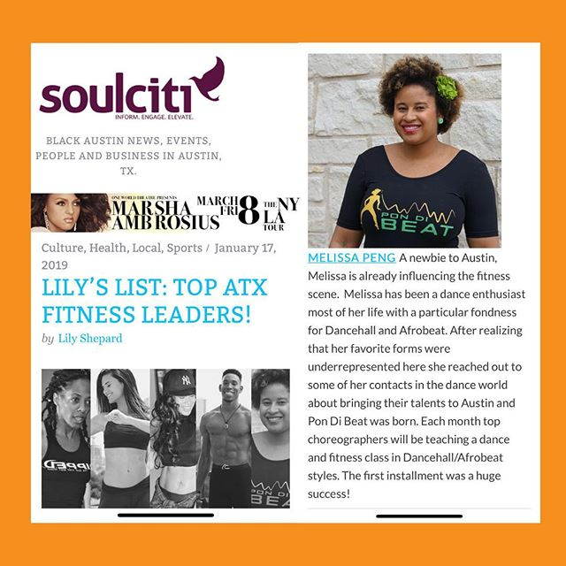 #TBT to the first bit of l❤️ve we got in Austin press! I posted on my personal but adding it here as well.  Thank you @soulciti512 & @skilletlil for taking notice of @pondibeat from Day 1 and adding us to your list!  We appreciate all the local support SO Much!! #sothankful #blackhistorymonth #blackownedbusiness #caribbeangirl
