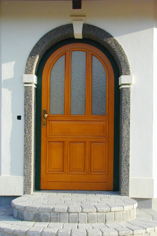 Eingangstüre-Tischlerei-Pichler