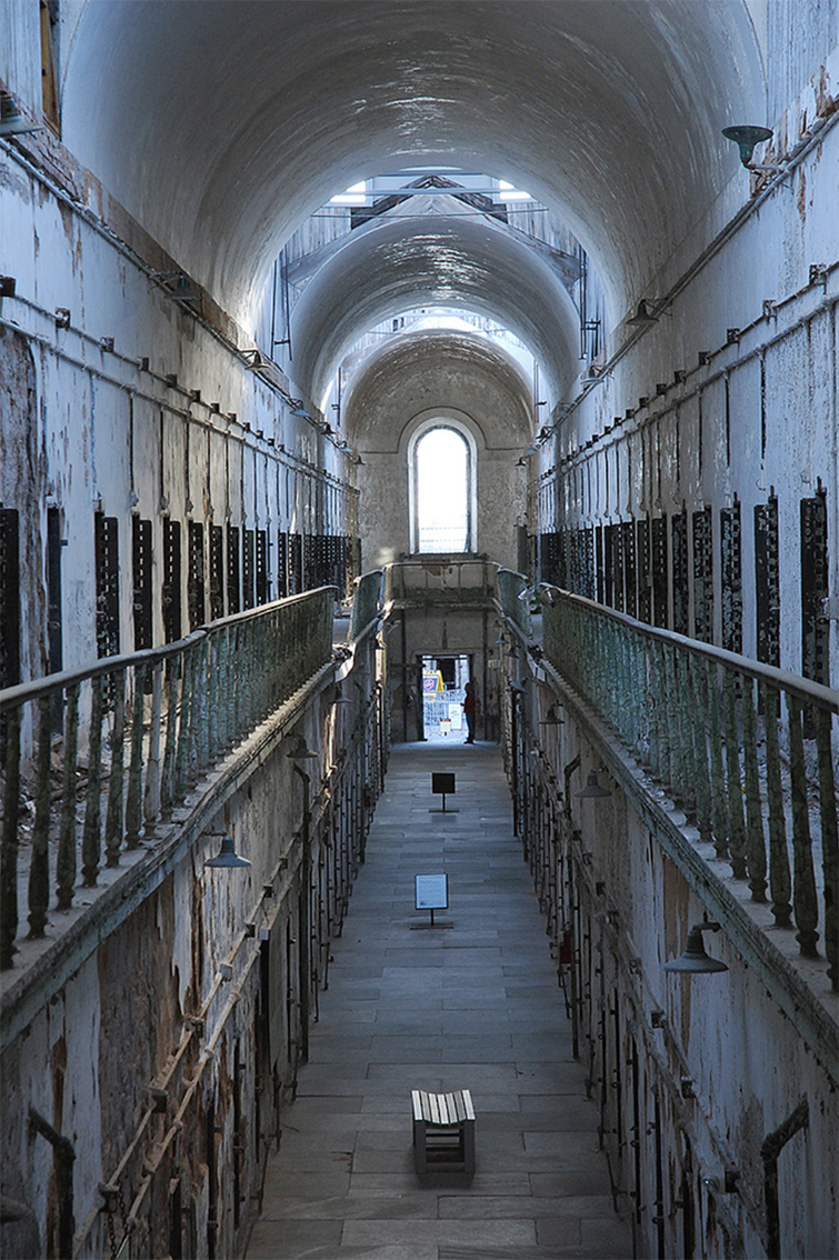 EASTERN STATE PENITENTIARY - PHILADELPHIA, USA