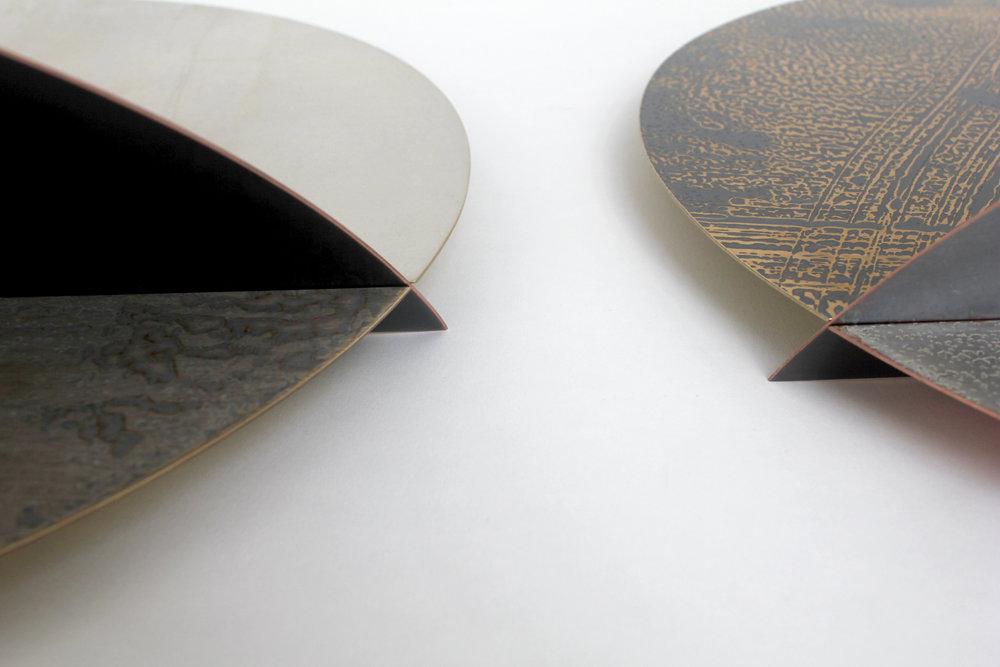Monoscape by Rebecca Gouldson Metal Art www.rebeccagouldson.co.uk