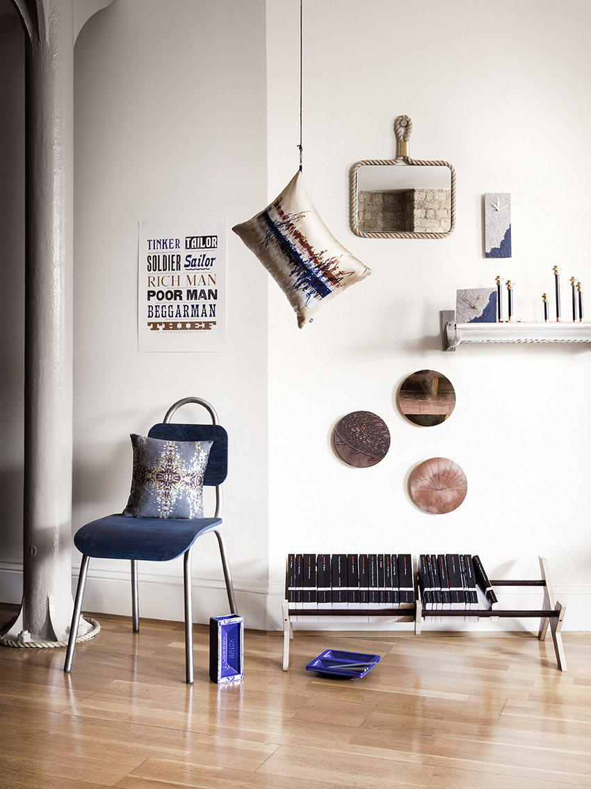Capsule Collection. Rebecca Gouldson for Warehouse Home Magazine. Photo: Oliver Perrott. www.rebeccagouldson.co.uk
