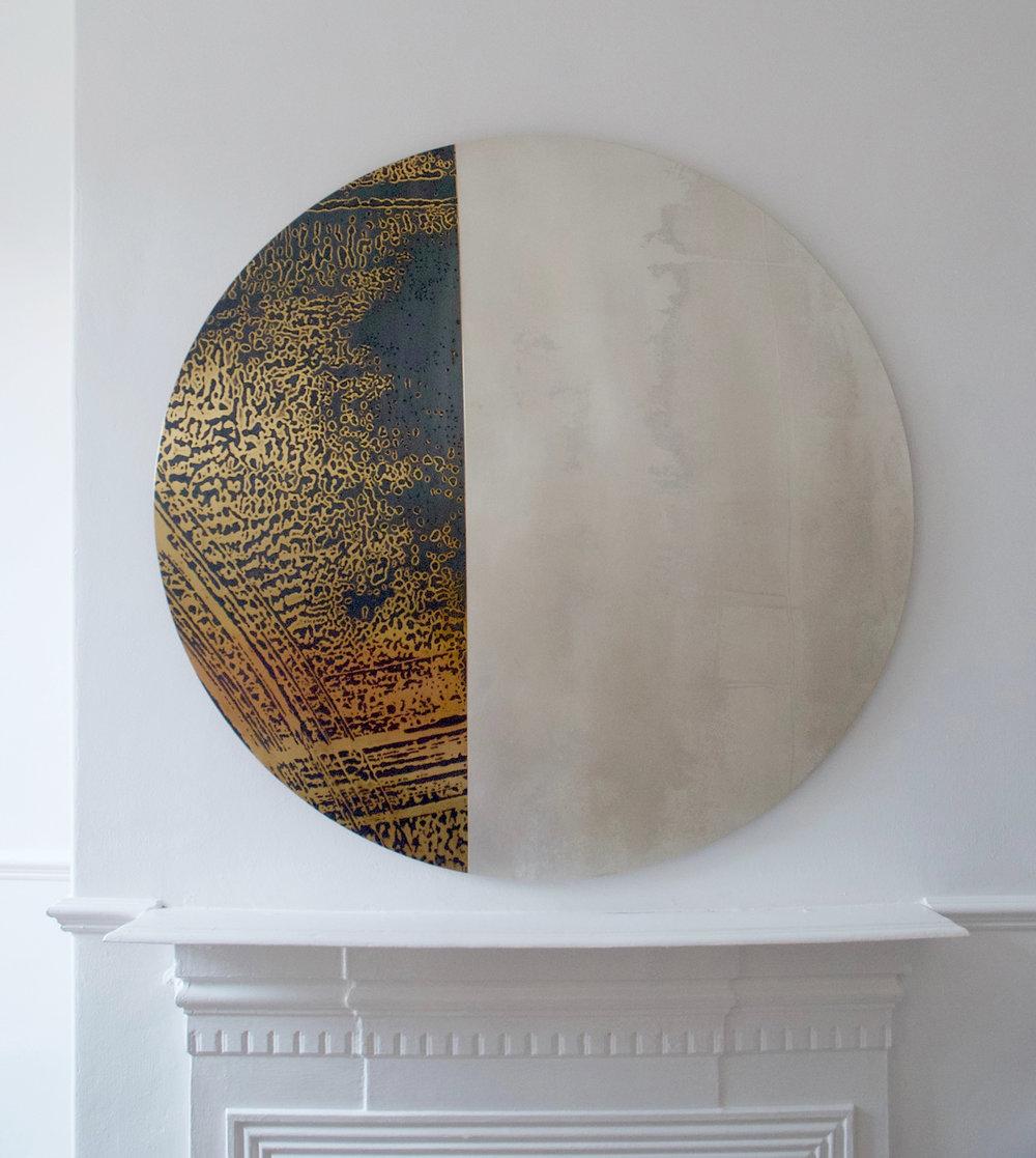 Commission for private client, Bahrain. Rebecca Gouldson Metal Art www.rebeccagouldson.co.uk