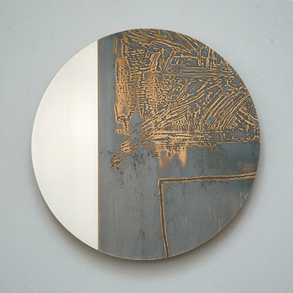 Monoscope Series by Rebecca Gouldson Metal Art www.rebeccagouldson.co.uk