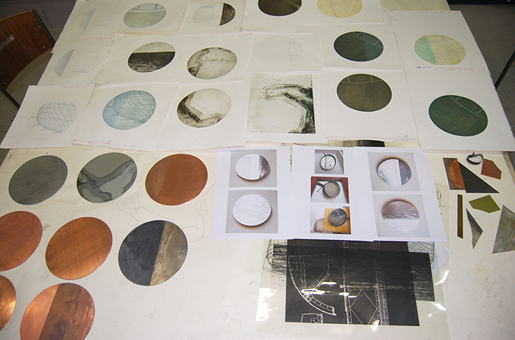 Print Collection by Rebecca Gouldson, commissioned by and available from Edinburgh Printmakers.