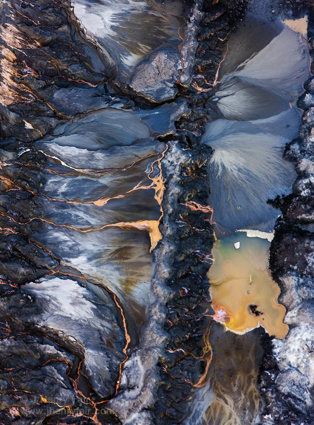Leachate from coal mines