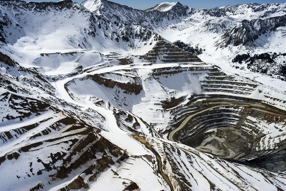 Molybdenum Mine, Climax, Colorado, USA